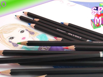 Topmodel zeichnen für Anfänger - Topmodel Glamour Special Malbuch Demo