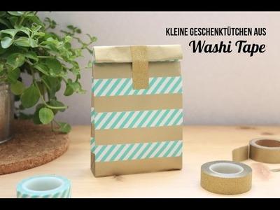#WashiWoche: Geschenktüten falten aus Washi Tape