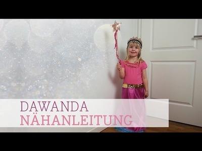 DaWanda Nähanleitung: Kostüm Prinzessin