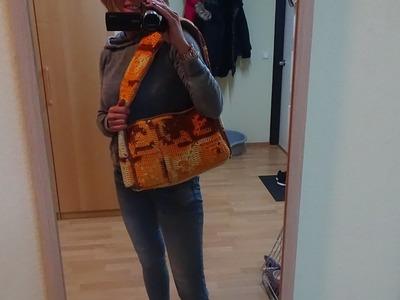 Tasche Ganchillo Xl Häkeln Clutch Funda Tasche Ganchillo Xl