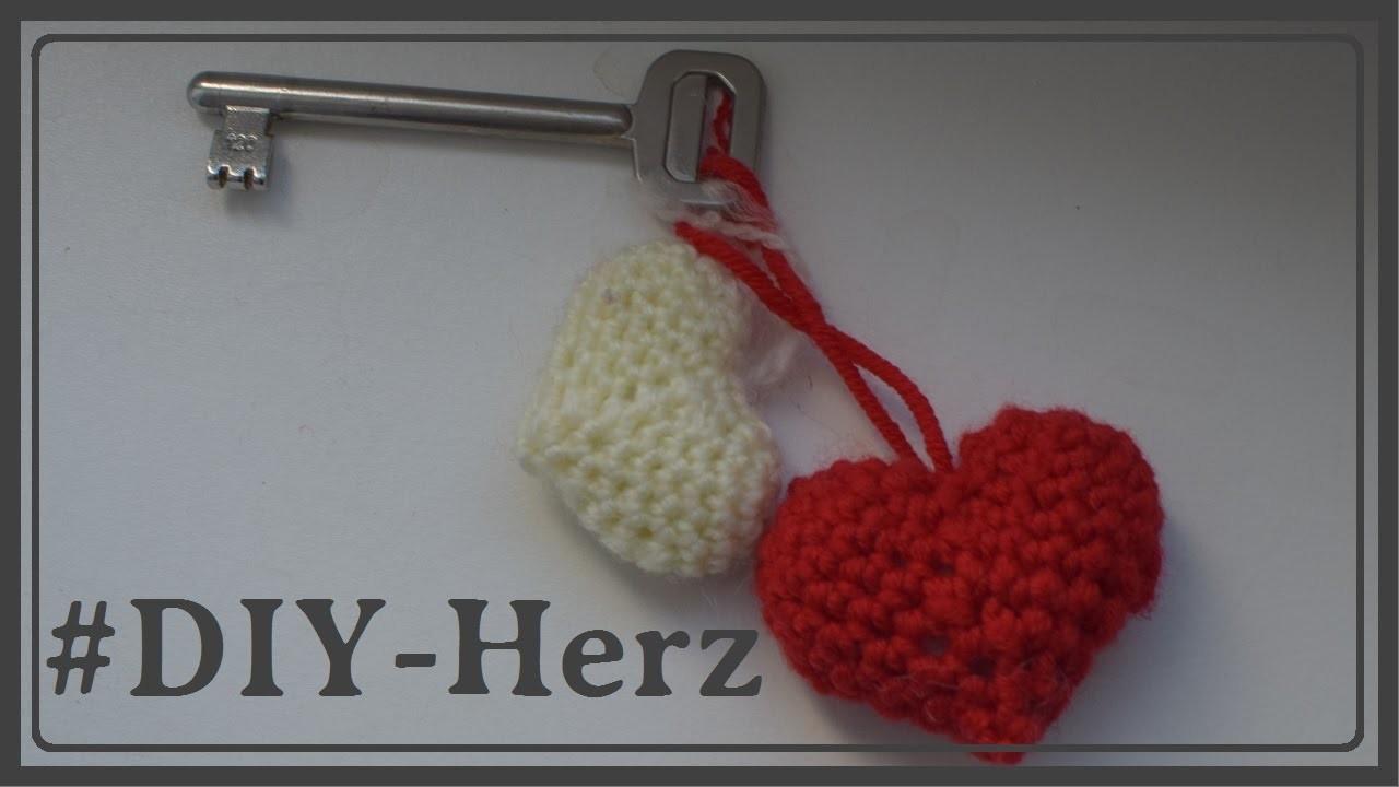 Herz Häkeln Schlüsselanhänger Für Valentienstag