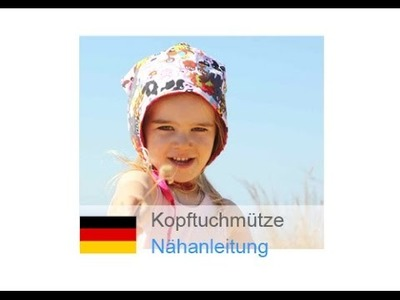 """Kopftuch.mütze """"JETTE"""" nähen - für Nähanfänger - Schnitt und Anleitung auf Zierstoff.de"""