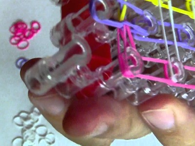 Loom Armband (Gummi Armband) Grundlagen, in Deutsch
