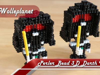 Perler Bead 3D Darth Vader
