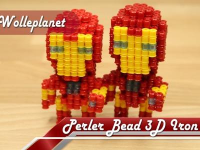 Perler Bead 3D Iron Man
