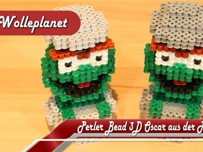 "Perler Bead 3D Oscar aus der Tonne ""Sesamstraße"""