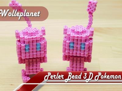 Perler Bead 3D Pokemon Mew