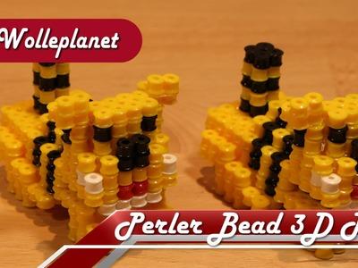 Perler Bead 3D Tiger