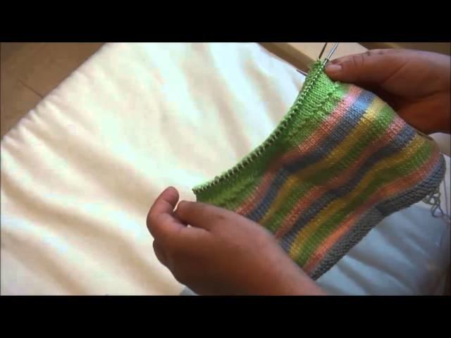 Puppenkleider stricken - Teil 2 - Taille