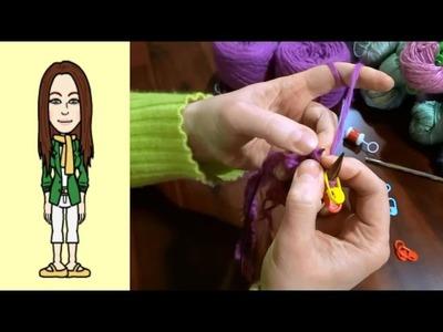 RVO - Raglan von oben Pullover stricken mit V-Ausschnitt (Teil 2 von 12)