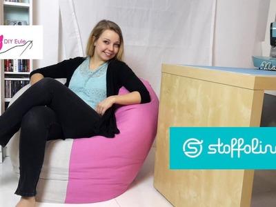 Sitzsack nähen  - DIY Eule & Stoffolino.de