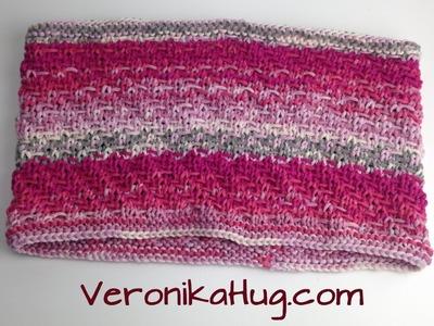 Stricken - Loop mit Spannfäden - Woolly Hugs BANDY Veronika Hug