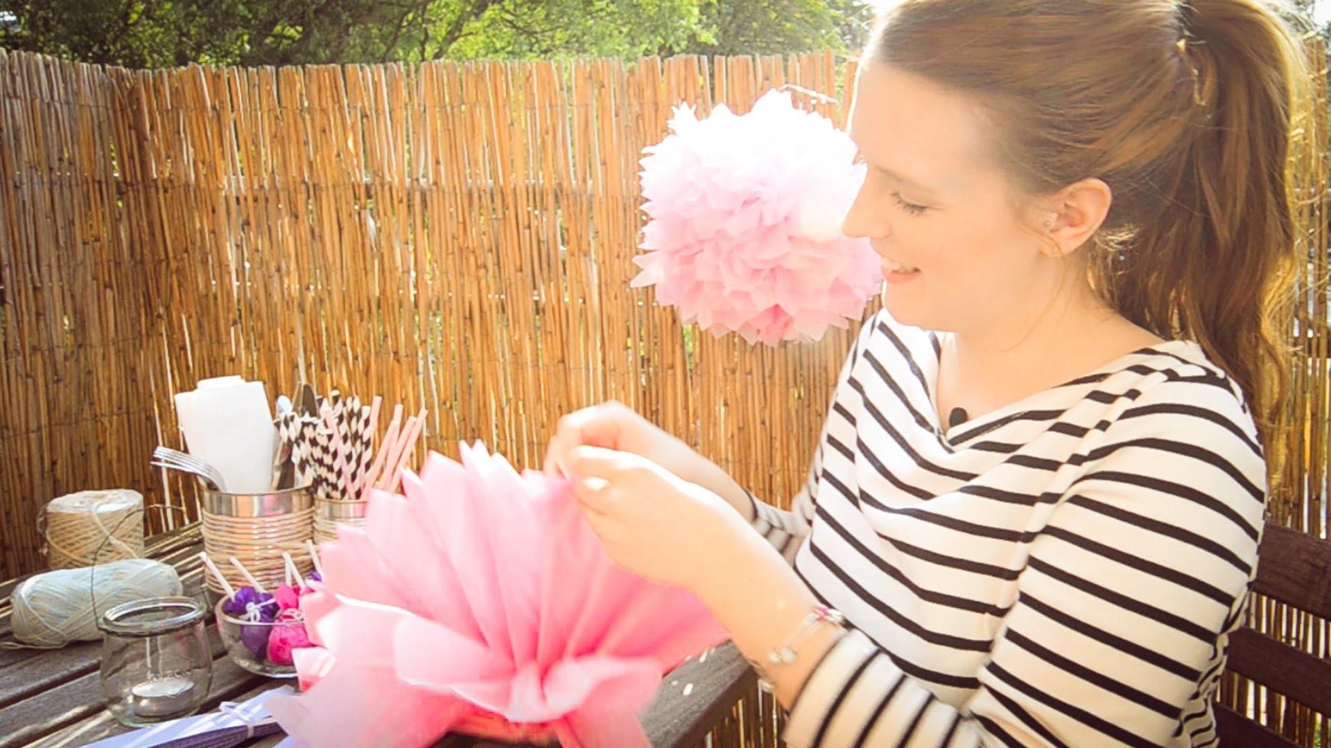 Summer Party Dekoration mit Anna Frost - Cross Promo