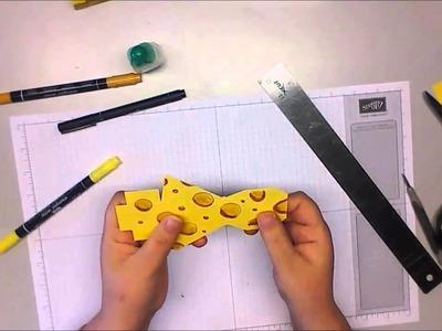 """"""" Kreativ in Gelb"""" Tutorial Käsestückchen"""