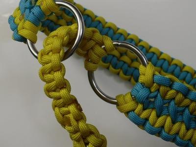 Zugstopp Halsband aus Paracord für Vierbeiner - Paracord Flechten Anleitung in Deutsch auch als Blog