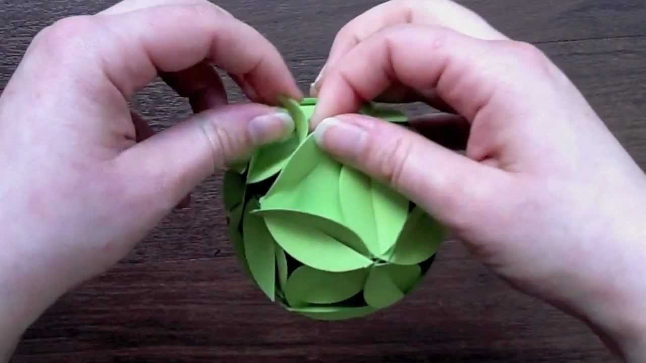 Anleitung Folia Fancy Shapes - Ball
