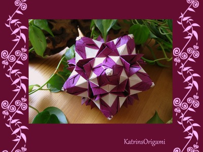 Origami ᘠ♥ᘡ Shalimar ᘠ♥ᘡ Kusudama