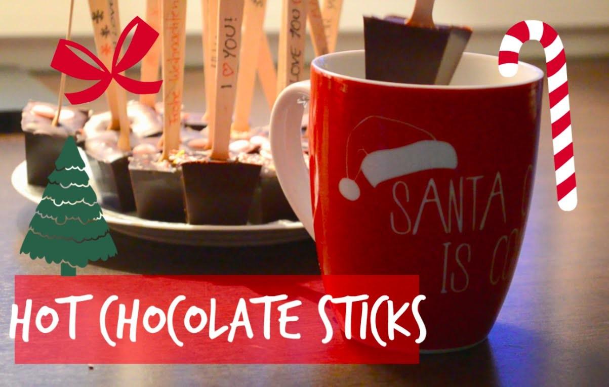 DIY Hot Chocolate Sticks | #ChristmaswithCharlotteK