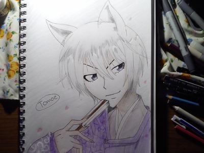 [Speedpaint]#2 Tomoe aus Kamisama Hajimemashita. Kamisama Kiss