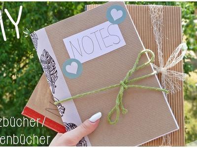 DIY School Supplies | Notizbücher. Skizzenbücher selber machen