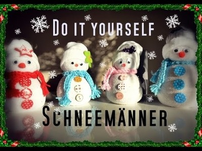 Do It Yourself - Snowman | Winter DIY | Schneemann | Snowman | Deko ♥