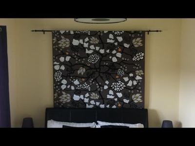 Einen Vorhang Für Die Wand Ohne Nähen Herstellen - DIY Home - Guidecentral