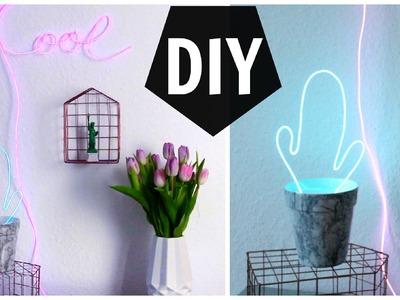 Coole Neonlichter - Home Deko DIY | funnypilgrim