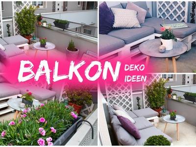Dekoideen für Balkon Frühling 2016 ❤