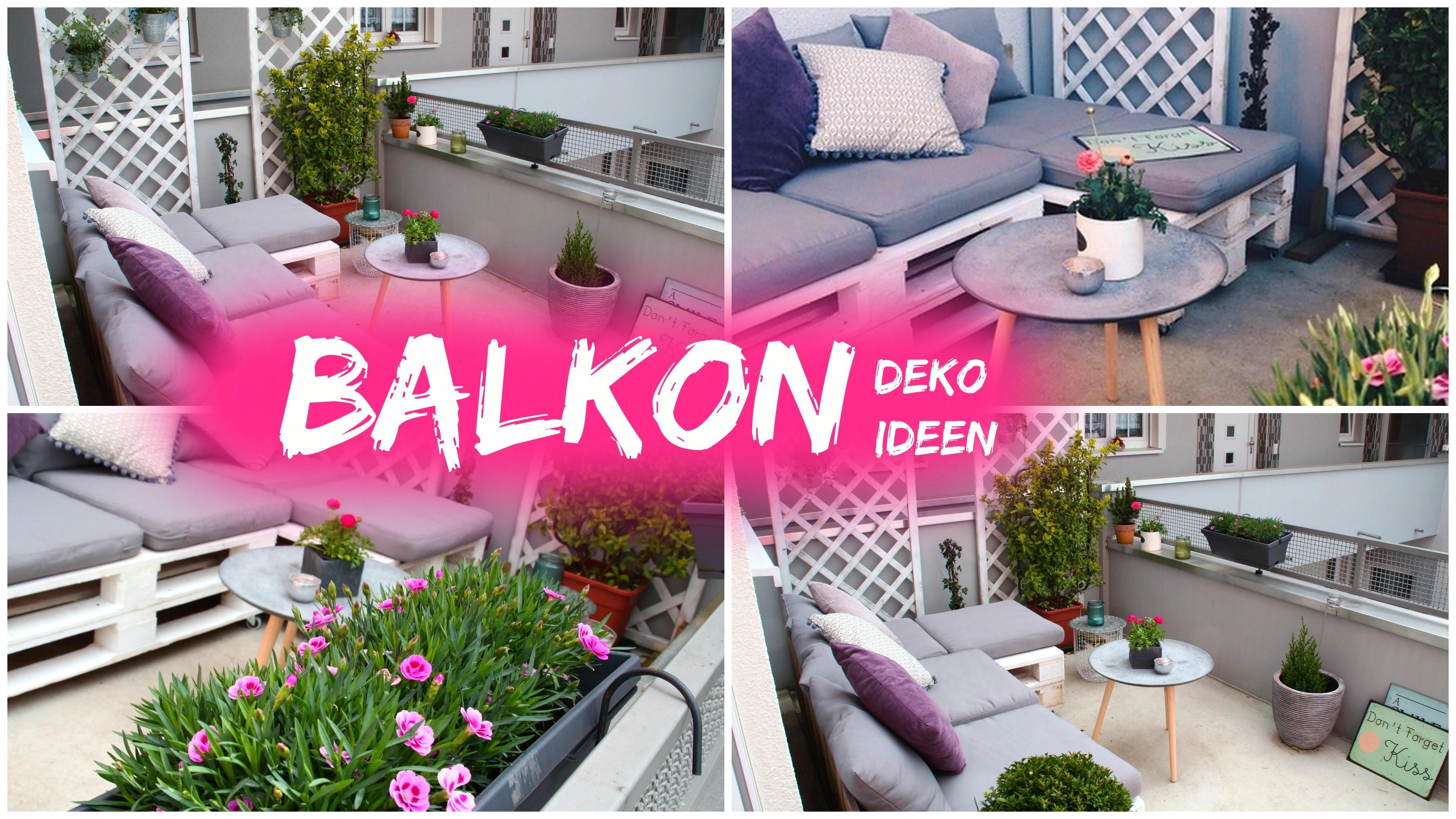 Dekoideen Fur Balkon Fruhling 2016