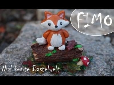 Der freche Fuchs ~ Fimo. Polymerclay. Tutorial