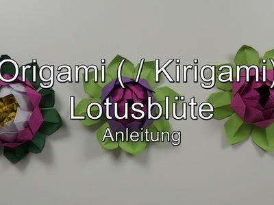Anleitung: Origami (. Kirigami) Lotusblüte. -blüte