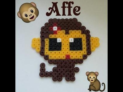 Bügelperlen- süßer kleiner Affe