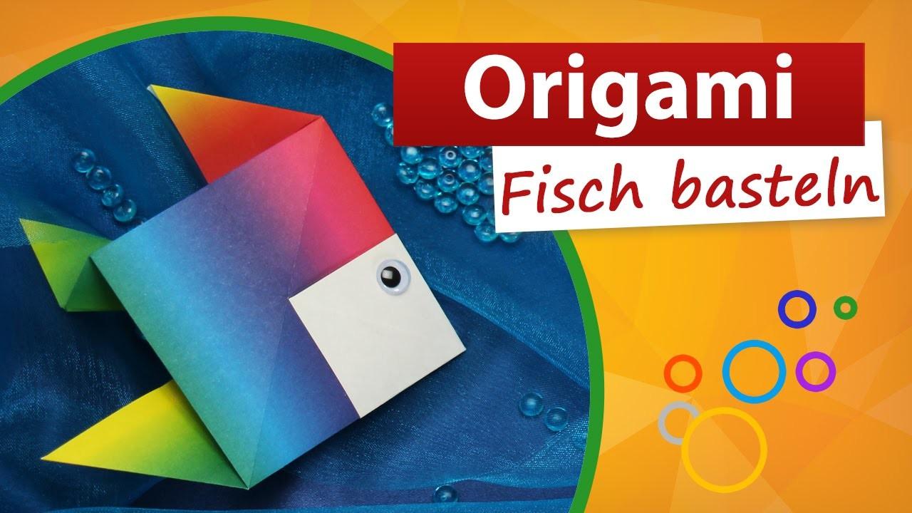 origami fisch falten min video fisch basteln mit kindern trendmarkt24 bastelideen. Black Bedroom Furniture Sets. Home Design Ideas