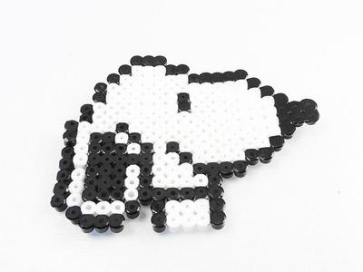 Snoopy Bügelperlen Bild | kleiner süßer Hund der Peanuts | Charly Browns Freund