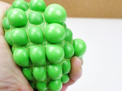 Anti Stressball selber machen | Squishy Mesh Ball mit Schleim und Luftballon einfach selber machen