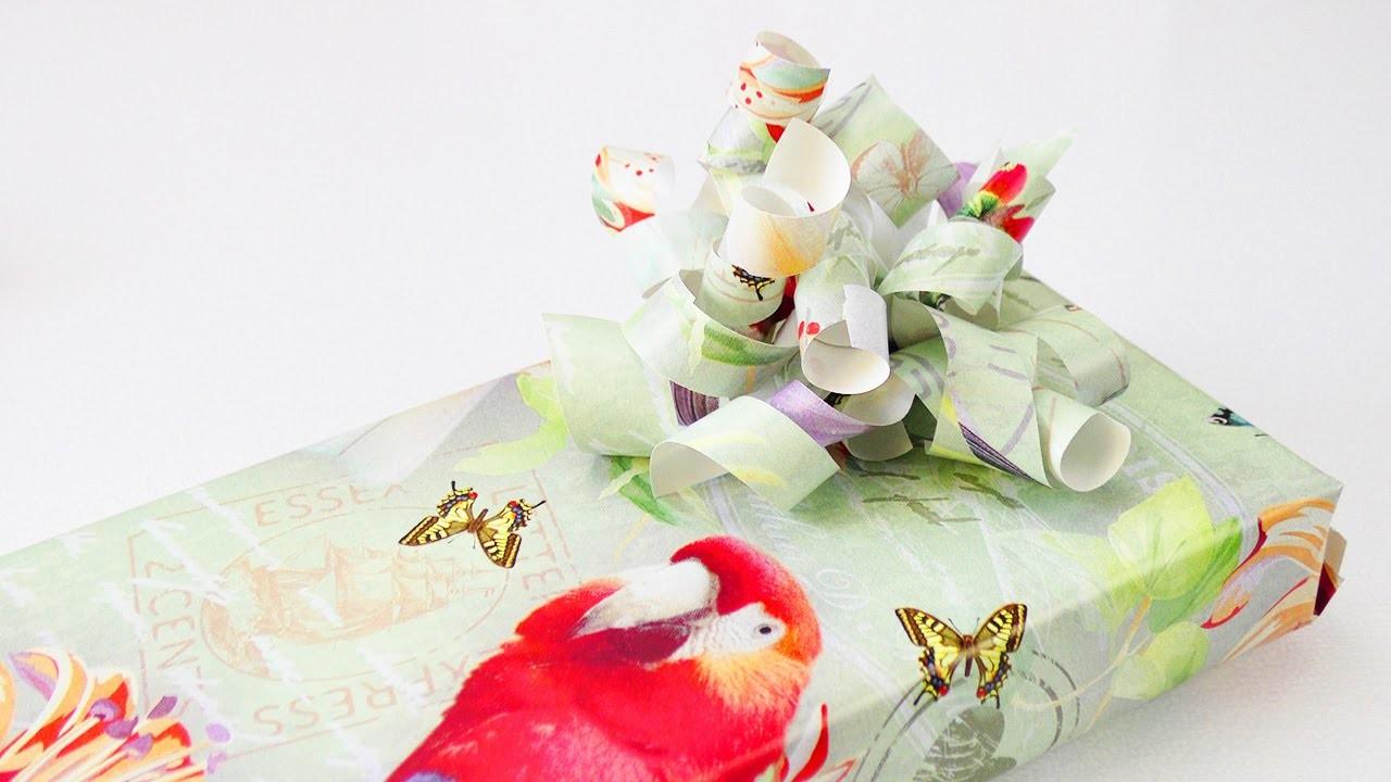 DIY Inspiration Challenge #51 Geschenke einpacken | Evas Challenge | Tutorial - Do it yourself