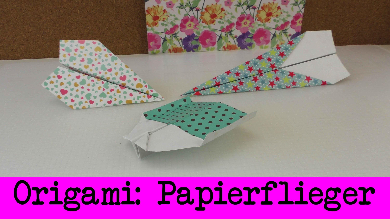 drei papierflieger anleitungen einfaches origami papierflugzeuge drei coole varianten. Black Bedroom Furniture Sets. Home Design Ideas