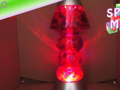 Orbeez Lampe kleine Perlen wachsen um das 100fache – Demo der Stimmungsleuchte – wie Lavalampe