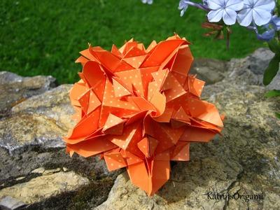 Origami ❉ Juliette ❉ Kusudama variation
