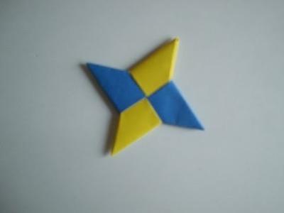 Origami: Wurfstern