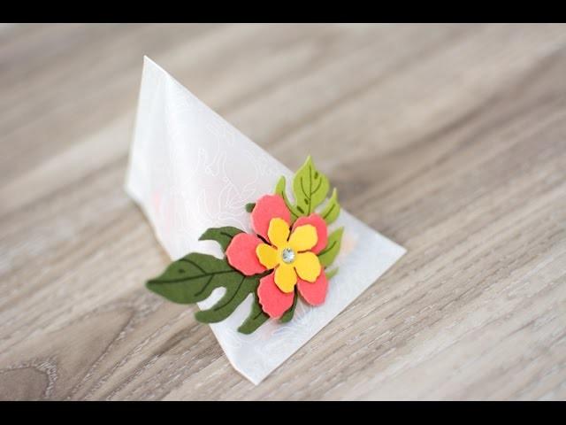 Sour Cream Container mit Stampin' Up! Botanischer Garten - Tutorial deutsch