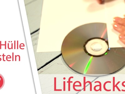 LIFEHACK: CD Hülle selber basteln!