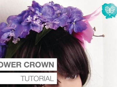 Cosplay Tutorial | Flower Crown DIY