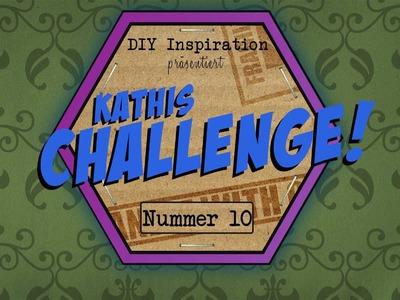 DIY Inspiration Challenge #10 Leinwand | Evas und Kathis Challenge | Do It Yourself Tutorial