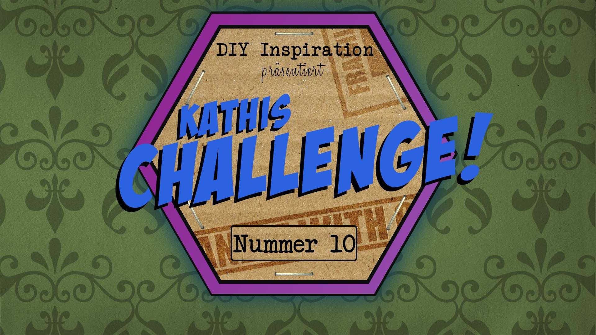 DIY Inspiration Challenge #10 Leinwand   Evas und Kathis Challenge   Do It Yourself Tutorial
