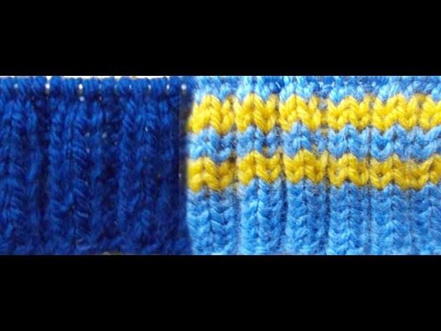 Elastic knitting spokes| TUTORIAL Schal stricken für bluuuuutige Anfänger