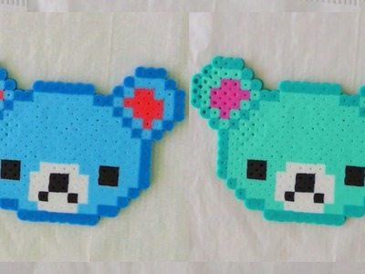 Perler Bead Bear Tutorial