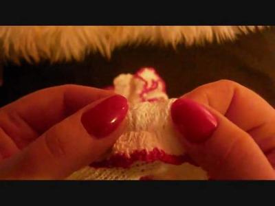 Stricken Damenslip. knitting slip