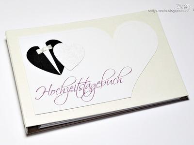 Hochzeitstagebuch - Hochzeitsgästebuch - wedding diary - wedding journal - guest book