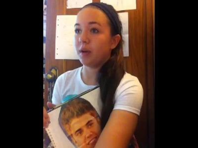 My Second Justin Bieber Scrapbook